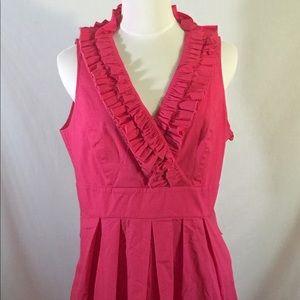 White House Black Market Sleeveless Pink Dress